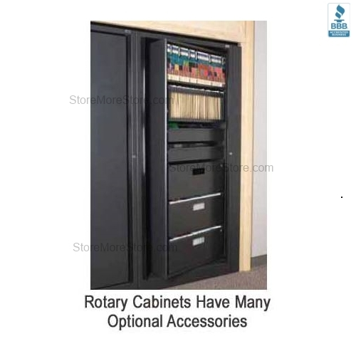Secure Rotary Shelves
