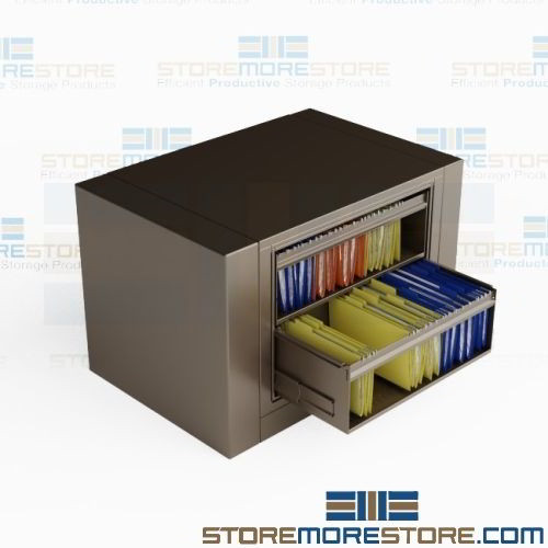 Hanging File Folders 2 Roll Out Shelves
