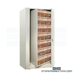 datum rotary file cabinets made by datum holds end tab file folders