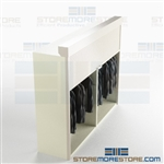 Datum locking cabinet steel shutters for maximum security preserve costumes robes clothing