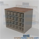 Rolled Blueprint Shelving Counter Storage Construction Drawing Rack Architect Plans