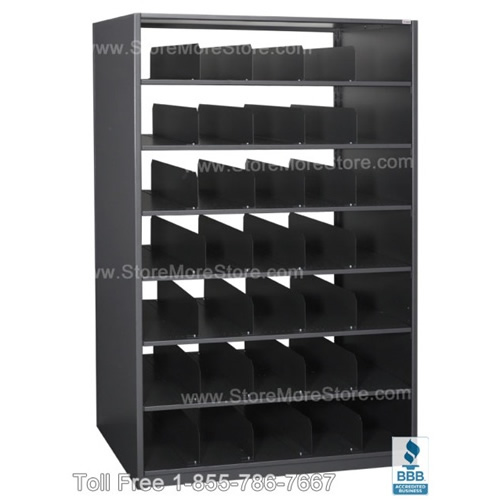 Rolled blueprint plan drawing storage shelving 42 w x 30 d x 76 h 6 openings sms 17 pd423076 free dock to dock shipping for steel drawing racks architectural construction blueprint storage malvernweather Image collections