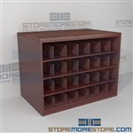 Rolled Architectural Drawing Storage Counter Cabinet with Work Top Surface