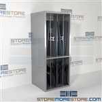 Riot Armor Storage Racks Police Shield Shelving How to Store Body Armor Gear