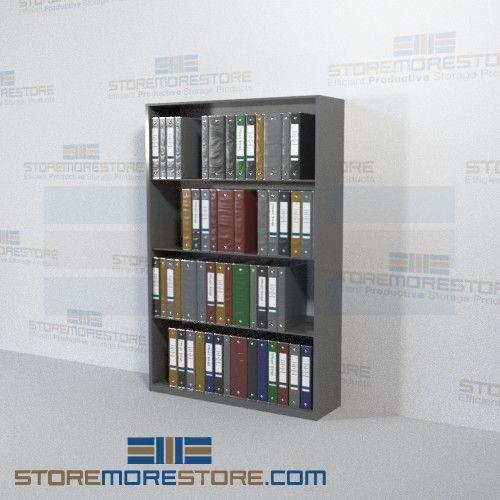 Binder Storage Shelving Starter Unit (42