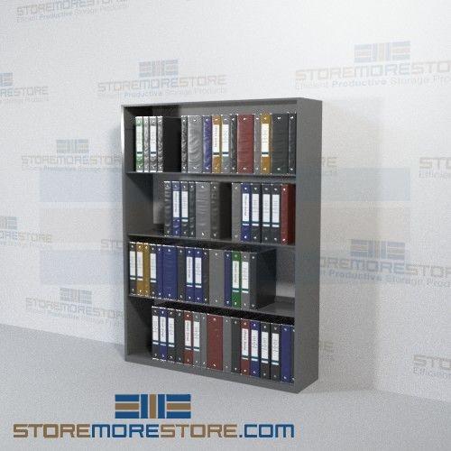 Medical Chart Binder Office Racks Storage Shelves Four Levels Wall