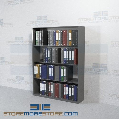 medical chart binder office racks storage shelves four levels wall