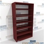 Binder and Pocket Shelving Legal Law Office Documents