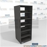 Double Sided File Shelving 6 Level high racking Steel File Storage Shelving