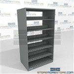 Furniture Partition High File Shelving Double Sided Adjustable file Shelf