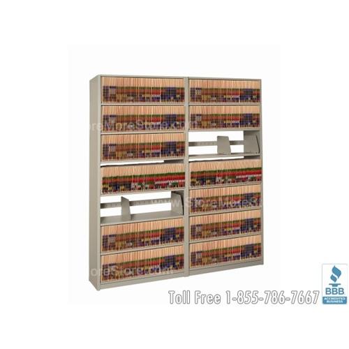 File Shelving In A Box Four Post Open Shelf Filing