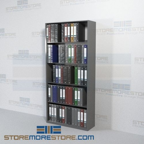 Notebook Storage Binder Shelving Office