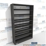Office Shelving Letter-Size File Starter Unit 48 in wide Starter Shelving Unit