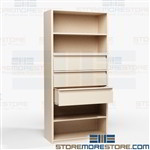Drawer Storage Shelving for Office Supplies Combination Cabinet Metal Steel