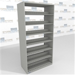 Steel Letter Sized Record Shelving Adjustable Steel Business Steel Shelving
