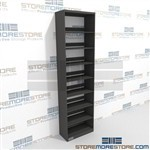 Medical Chart File Shelving Business File shelf Systems Steel Starter Unit