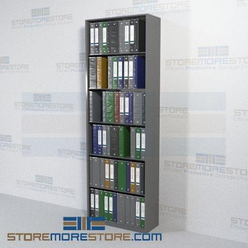 open office shelving racks storing binders files 30 wide starter