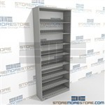 Flexible File Shelving Office File Racking System Letter sized record shelf