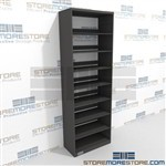 End Tab Files Legal Record Open File Storage Racks