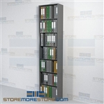 "Office File Racking Freestanding Document Shelving 24"" Wide Starter Unit"