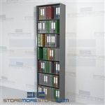 "Binder Shelving Adjustable Racks Medical Chart Records 30"" Wide Starter Unit"