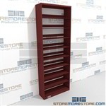 Extra High Letter Sized File Shelving Business Office Letter-Size Wall Shelves