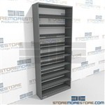 Doctors Office Letter Sized Patient Record Shelving Steel Letter Size Shelves