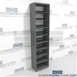 Adjustable Legal Shelving Storing Folders Storage Racks