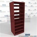 Legal Pocket Shelving Law Firm Case Files Storage Racks