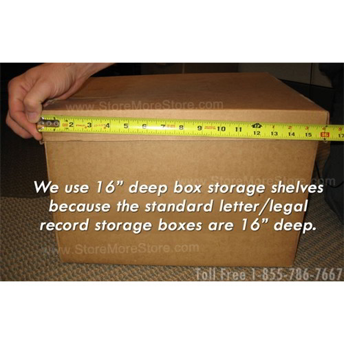 Free ... & Record Box Shelving | Record Storage Shelf | Storing Filing Records ...