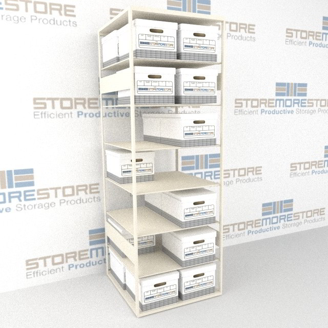 Alternative Views  sc 1 st  StoreMoreStore & Record Box Shelving | Record Storage Shelf | Storing Filing Records ...