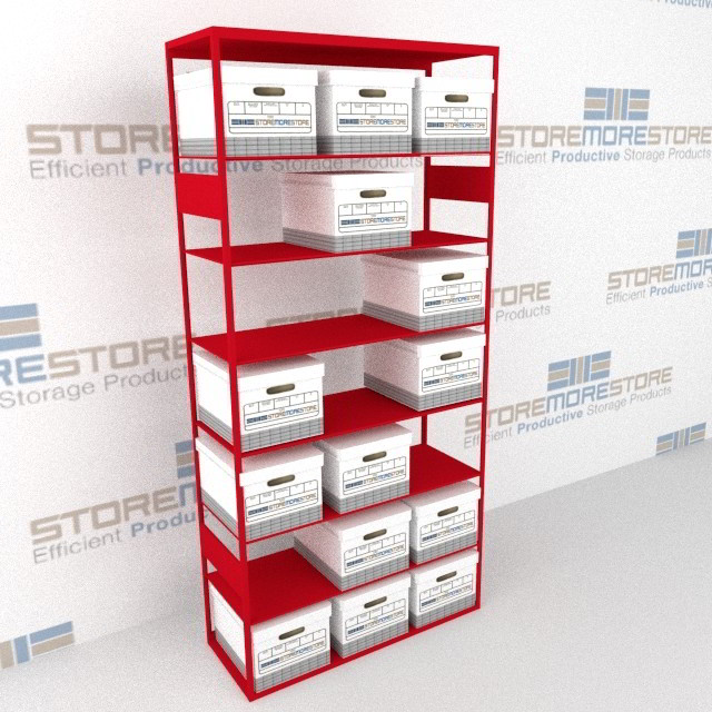 archival record box shelves letter legal archive box storage shelf rh storemorestore com File Box Storage System file box storage shelving