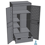 Military Wall Lockers