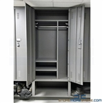 "Large Personnel Lockers (3'W x 2'D x 7' 8""H), #SMS-20-PCL-362492-RG16"