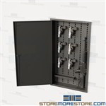 Weapons Recessed Wall Cabinet AR-15 M4 M16 Storage Pistols Ammo Handguns