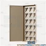 Digital Pistol Storage Cabinet Recessed in Wall 18 Handgun Safe Sidearm Datum