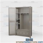 Ventilated Equipment Locker TA-50 Storage Steel Police Organization Cabinets