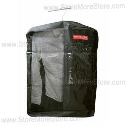 detention facility property bags, hanging garment conveyor bags