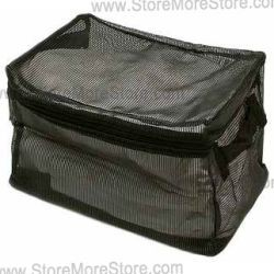 see-thru mesh inspection handbags, detention property soft packs