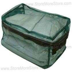 see-thru nylon hand carry bags, correction security containers