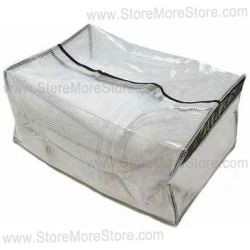 see thru soft handbag containers, nylon inspection security bags