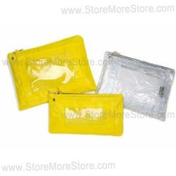 reusable locking property pouches, reusable locking evidence pooches