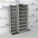 Slide-a-side racks, side-to-side shelving, Double Deep shelves, Datum