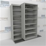 Slide-a-side racking, side-to-side storage, Double Deep racks, Datum