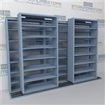 Mobile Sliding Filing Shelves B232LT-4P7 | Sideways Rolling File System