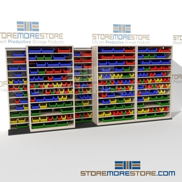 Industrial Rolling Bin Shelving Warehouse Small Parts