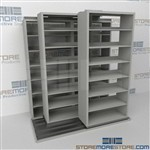Slide-a-side storage racks, side-to-side storage racks, Triple Deep storage racks, Datum
