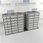 Archival Box Storage Track Slider Rolling Shelving Record Shelves File Racks | SMST065BX-4P7