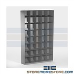 Angled File Racks Stacking Legal Shelving Filing Racks Vu-Stak® Datum