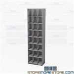 Eight-Tier Letter Stack Shelving Filing Cabinets Folder Storage Racks Datum